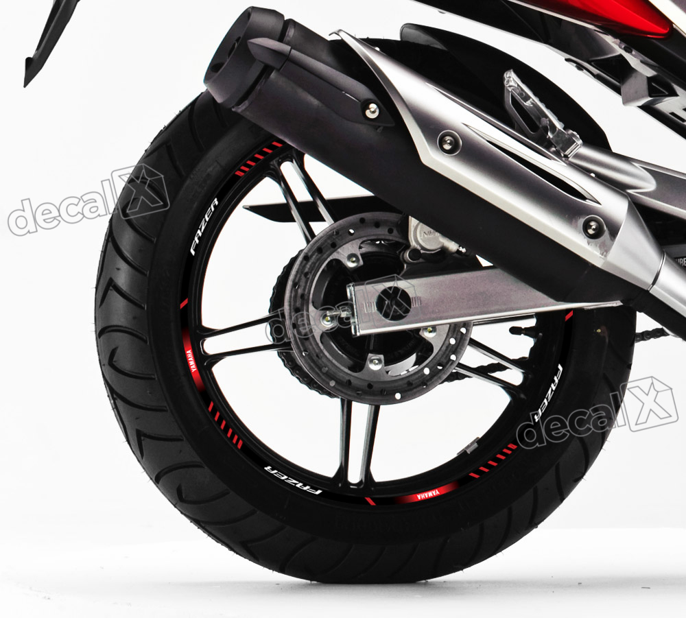 Patricia Valença Artesanato ~ Kit Adesivo Friso Refletivo Roda Moto Yamaha Fazer 250 Fri42 Adesivos para motos& Adesivos