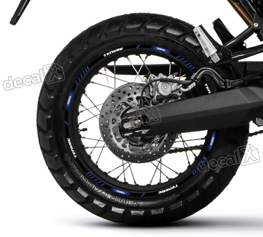 Armario Retro Quarto ~ Kit Adesivo Friso Refletivo Roda Moto Yamaha Tenere 660 Fr56 R$ 121,38 em Mercado Livre