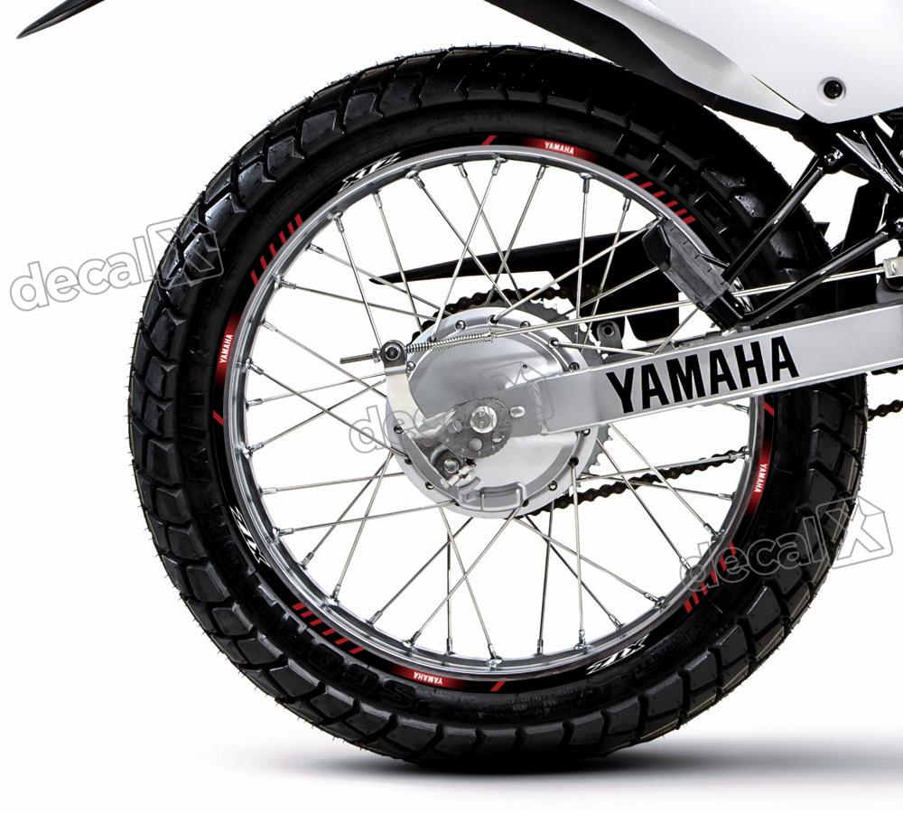 Aparador Y Vitrina Clasico ~ Kit Adesivo Friso Refletivo Roda Moto Yamaha Xtz 125 Fri65 Adesivos para motos& Adesivos